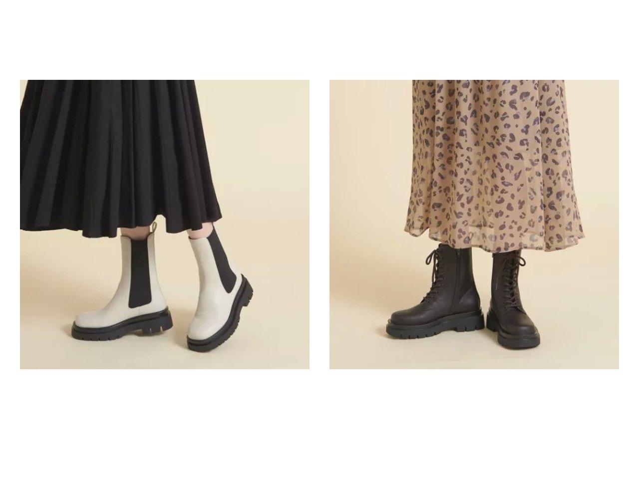 【Odette e Odile/オデット エ オディール】の【WEB限定】サイドゴア ショートブーツ55●↑&【WEB限定】レースアップ ショートブーツ55●↑ 【シューズ・靴】おすすめ!人気、トレンド・レディースファッションの通販 おすすめで人気の流行・トレンド、ファッションの通販商品 インテリア・家具・メンズファッション・キッズファッション・レディースファッション・服の通販 founy(ファニー) https://founy.com/ ファッション Fashion レディースファッション WOMEN 厚底 シューズ ショート ソックス フェミニン レース おすすめ Recommend |ID:crp329100000072580