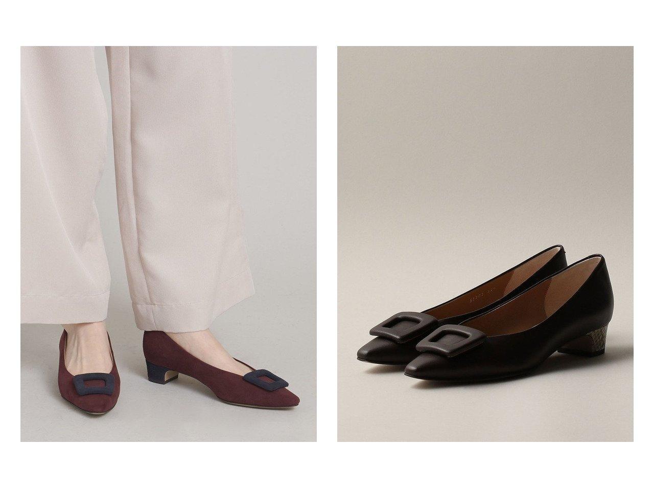 【Odette e Odile/オデット エ オディール】のフレームラップ パンプス30↑ 【シューズ・靴】おすすめ!人気、トレンド・レディースファッションの通販 おすすめで人気の流行・トレンド、ファッションの通販商品 インテリア・家具・メンズファッション・キッズファッション・レディースファッション・服の通販 founy(ファニー) https://founy.com/ ファッション Fashion レディースファッション WOMEN コンビ シューズ パイソン フレーム ラップ |ID:crp329100000072584