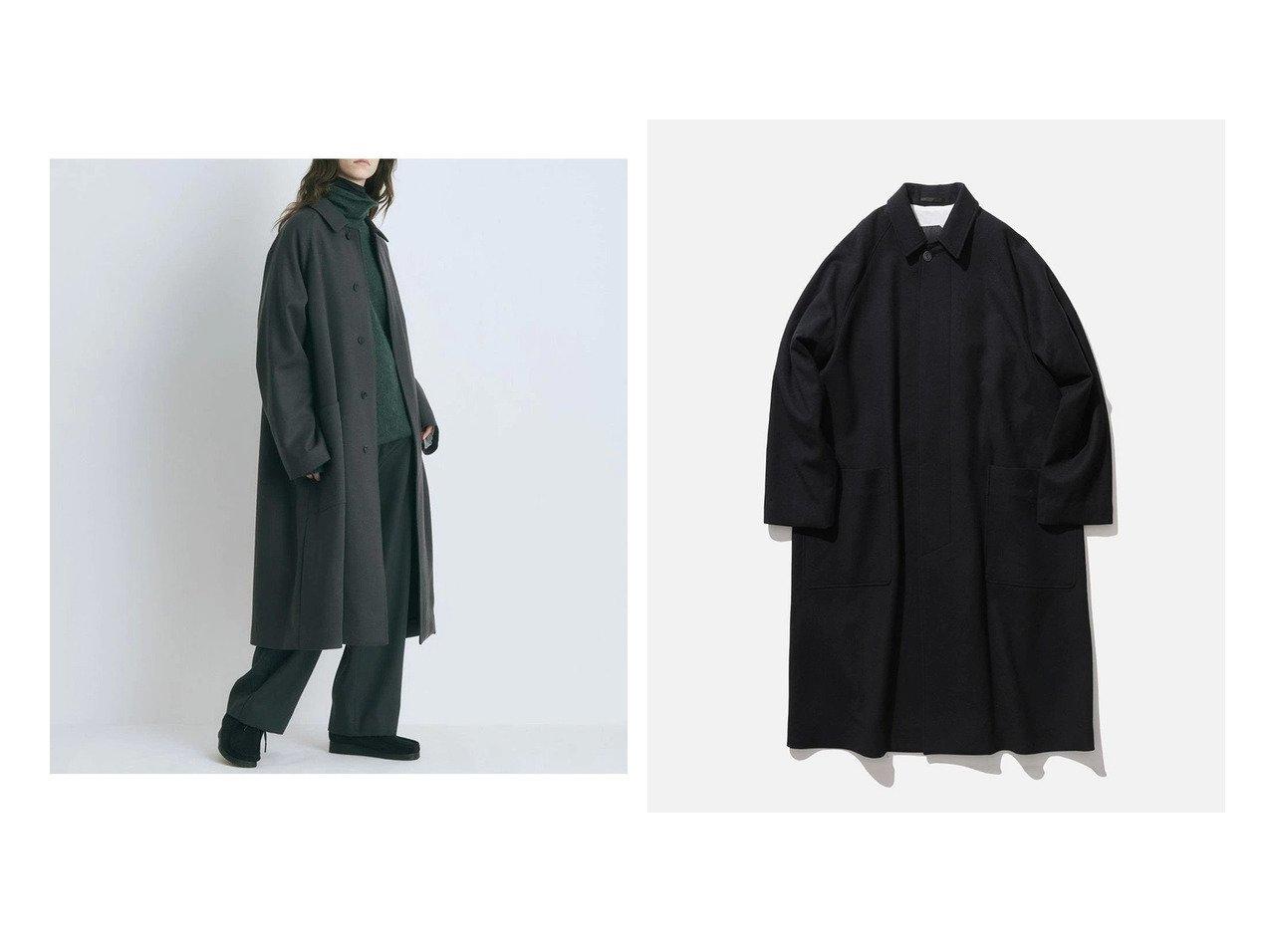 【ATON/エイトン】のSUPER 160 S DOUBLE SAXONY バルマカーンコート - UNISEX 【アウター】おすすめ!人気、トレンド・レディースファッションの通販 おすすめで人気の流行・トレンド、ファッションの通販商品 インテリア・家具・メンズファッション・キッズファッション・レディースファッション・服の通販 founy(ファニー) https://founy.com/ ファッション Fashion レディースファッション WOMEN アウター Coat Outerwear コート Coats ジャケット Jackets 送料無料 Free Shipping UNISEX カシミヤ ジャケット ジャージ ルーズ  ID:crp329100000072610