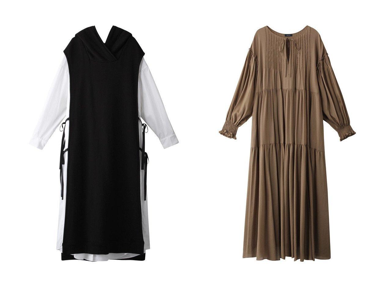 【WRINN/リン】のDRESS&DRESS 【ワンピース・ドレス】おすすめ!人気、トレンド・レディースファッションの通販 おすすめで人気の流行・トレンド、ファッションの通販商品 インテリア・家具・メンズファッション・キッズファッション・レディースファッション・服の通販 founy(ファニー) https://founy.com/ ファッション Fashion レディースファッション WOMEN ワンピース Dress ドレス Party Dresses チュニック Tunic ギャザー チュニック ドレス フェミニン リボン ロング  ID:crp329100000072628