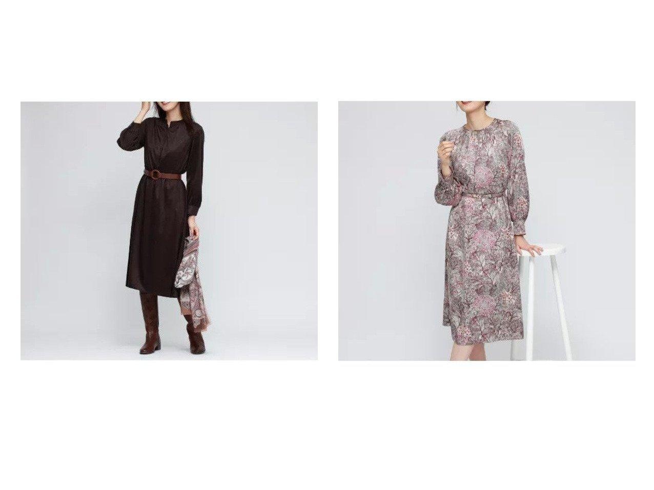 【AMACA/アマカ】の【LIBERTY】David joe ノーブルサテンドレス&スウェードジャージードレス 【ワンピース・ドレス】おすすめ!人気、トレンド・レディースファッションの通販 おすすめで人気の流行・トレンド、ファッションの通販商品 インテリア・家具・メンズファッション・キッズファッション・レディースファッション・服の通販 founy(ファニー) https://founy.com/ ファッション Fashion レディースファッション WOMEN ワンピース Dress ドレス Party Dresses S/S・春夏 SS・Spring/Summer インド コレクション シャーリング ドレス フォーマル 夏 Summer 春 Spring アンダー ギャザー ジャケット ジャージ スウェード フィット 秋 Autumn/Fall  ID:crp329100000072636
