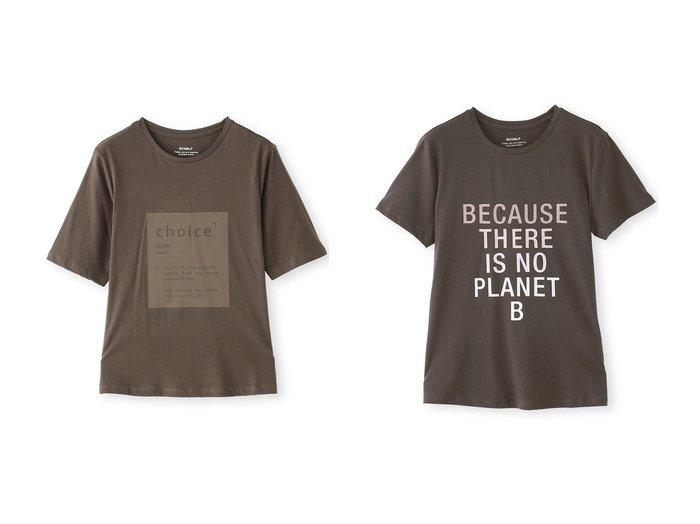 【ECOALF/エコアルフ】のECOALF SINCE Tシャツ&BECAUSE Tシャツ 【トップス・カットソー】おすすめ!人気、トレンド・レディースファッションの通販 おすすめ人気トレンドファッション通販アイテム インテリア・キッズ・メンズ・レディースファッション・服の通販 founy(ファニー) https://founy.com/ ファッション Fashion レディースファッション WOMEN トップス・カットソー Tops/Tshirt シャツ/ブラウス Shirts/Blouses ロング / Tシャツ T-Shirts カットソー Cut and Sewn ショート スリーブ |ID:crp329100000072654