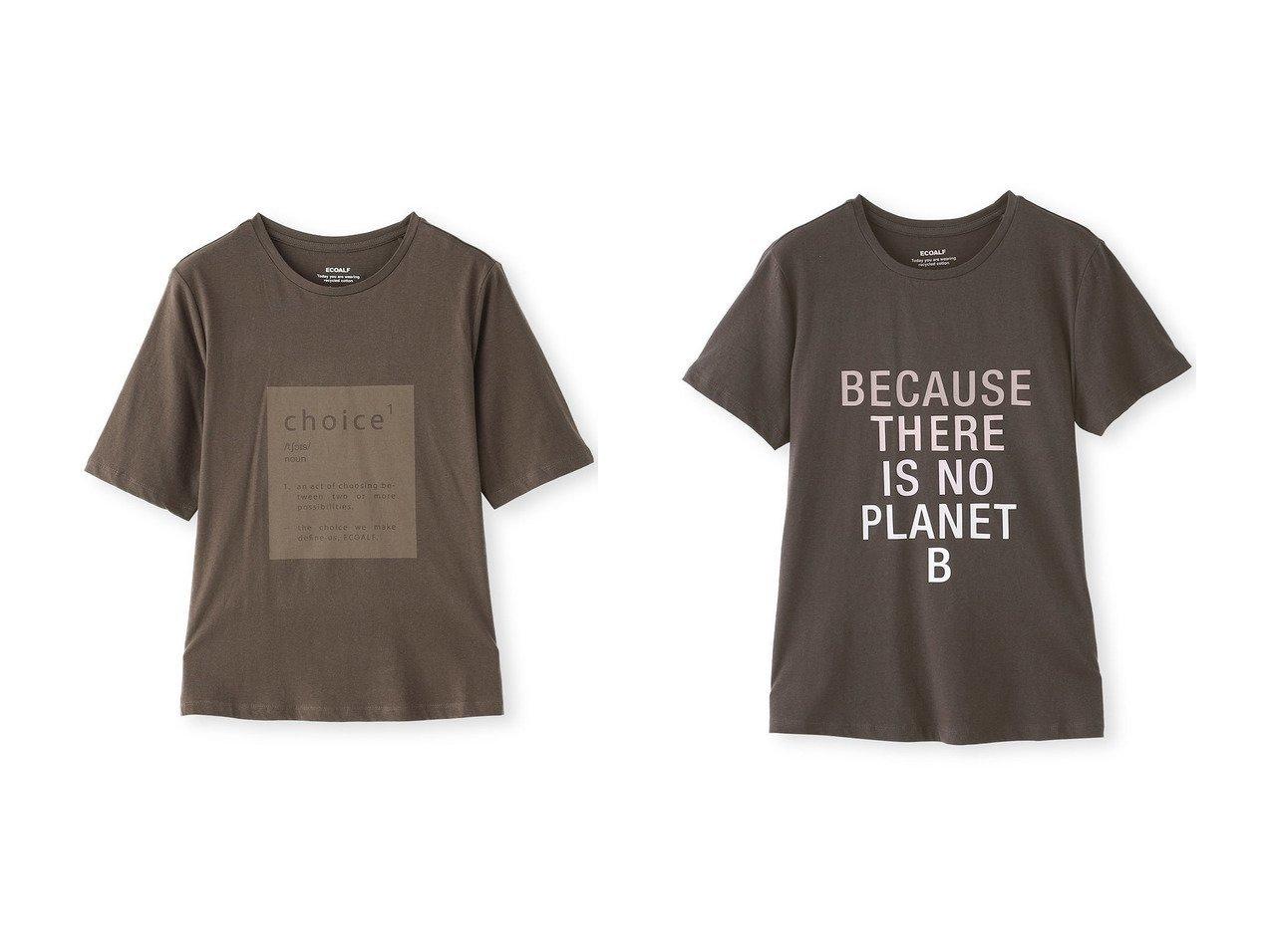 【ECOALF/エコアルフ】のECOALF SINCE Tシャツ&BECAUSE Tシャツ 【トップス・カットソー】おすすめ!人気、トレンド・レディースファッションの通販 おすすめで人気の流行・トレンド、ファッションの通販商品 インテリア・家具・メンズファッション・キッズファッション・レディースファッション・服の通販 founy(ファニー) https://founy.com/ ファッション Fashion レディースファッション WOMEN トップス・カットソー Tops/Tshirt シャツ/ブラウス Shirts/Blouses ロング / Tシャツ T-Shirts カットソー Cut and Sewn ショート スリーブ  ID:crp329100000072654