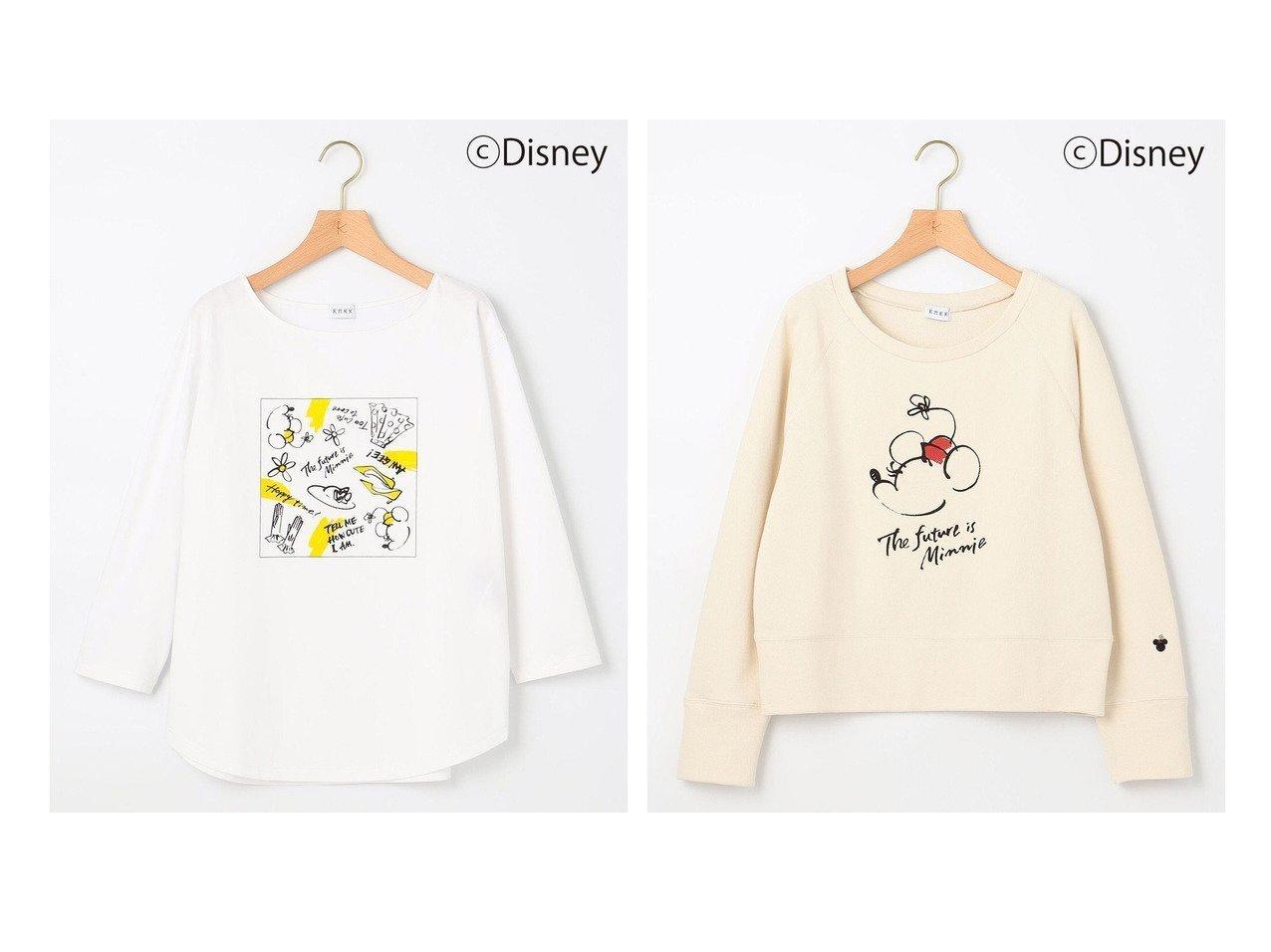 【KUMIKYOKU/組曲】の【KMKK】ディズニー ミニー ロングTシャツ&【KMKK】ディズニー ミニー スウェット 【トップス・カットソー】おすすめ!人気、トレンド・レディースファッションの通販 おすすめで人気の流行・トレンド、ファッションの通販商品 インテリア・家具・メンズファッション・キッズファッション・レディースファッション・服の通販 founy(ファニー) https://founy.com/ ファッション Fashion レディースファッション WOMEN トップス・カットソー Tops/Tshirt シャツ/ブラウス Shirts/Blouses ロング / Tシャツ T-Shirts カットソー Cut and Sewn パーカ Sweats スウェット Sweat イラスト 秋 Autumn/Fall カットソー シンプル スウェット スペシャル 手描き バンダナ ベーシック リラックス ロング A/W・秋冬 AW・Autumn/Winter・FW・Fall-Winter 2021年 2021 2021-2022秋冬・A/W AW・Autumn/Winter・FW・Fall-Winter・2021-2022 送料無料 Free Shipping  ID:crp329100000072658