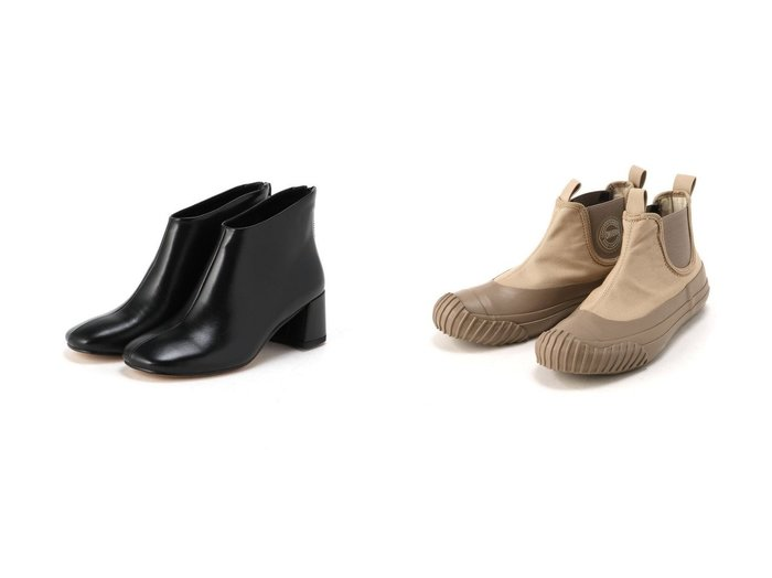 【CONVERSE/コンバース】の《CONVERSE》BIGC-サイドゴアハイカット&【REMME/レメ】のショートブーツ 【シューズ・靴】おすすめ!人気、トレンド・レディースファッションの通販 おすすめ人気トレンドファッション通販アイテム 人気、トレンドファッション・服の通販 founy(ファニー) ファッション Fashion レディースファッション WOMEN カッティング シューズ ショート シンプル スニーカー スリッポン ラバー |ID:crp329100000072828