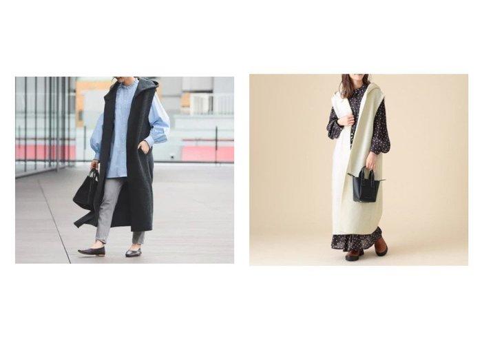 【Demi-Luxe BEAMS/デミルクス ビームス】の【WEB先行販売】 ライト インレイフード ベスト 【アウター】おすすめ!人気、トレンド・レディースファッションの通販 おすすめ人気トレンドファッション通販アイテム 人気、トレンドファッション・服の通販 founy(ファニー) ファッション Fashion レディースファッション WOMEN アウター Coat Outerwear コート Coats クラシカル 軽量 シンプル ダウン トレンド フロント ベスト ボンディング リラックス ロング ワイド A/W・秋冬 AW・Autumn/Winter・FW・Fall-Winter おすすめ Recommend  ID:crp329100000073393