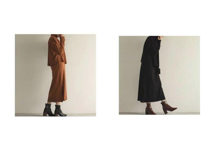 【marjour/マージュール】のENSEMBLE KNIT ONEPIECE 【ワンピース・ドレス】おすすめ!人気、トレンド・レディースファッションの通販 おすすめ人気トレンドファッション通販アイテム 人気、トレンドファッション・服の通販 founy(ファニー) ファッション Fashion レディースファッション WOMEN ワンピース Dress ニットワンピース Knit Dresses なめらか アンサンブル シンプル トレンド ハイネック ベスト ポケット ルーズ 冬 Winter 春 Spring 秋 Autumn/Fall 長袖  ID:crp329100000073443