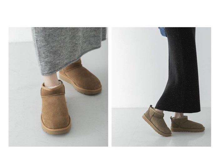 【URBAN RESEARCH/アーバンリサーチ】の【一部WEB限定カラー】UGG CLASSIC ULTRA MINI 【シューズ・靴】おすすめ!人気、トレンド・レディースファッションの通販 おすすめ人気トレンドファッション通販アイテム 人気、トレンドファッション・服の通販 founy(ファニー) ファッション Fashion レディースファッション WOMEN NEW・新作・新着・新入荷 New Arrivals カリフォルニア クラシック シューズ ショート  ID:crp329100000074131