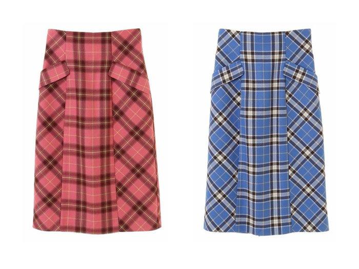 【31 Sons de mode/トランテアン ソン ドゥ モード】のカラーチェックタイトスカート 【スカート】おすすめ!人気、トレンド・レディースファッションの通販 おすすめ人気トレンドファッション通販アイテム 人気、トレンドファッション・服の通販 founy(ファニー) ファッション Fashion レディースファッション WOMEN スカート Skirt タイトスカート チェック 冬 Winter A/W・秋冬 AW・Autumn/Winter・FW・Fall-Winter 2021年 2021 2021-2022秋冬・A/W AW・Autumn/Winter・FW・Fall-Winter・2021-2022 |ID:crp329100000074334