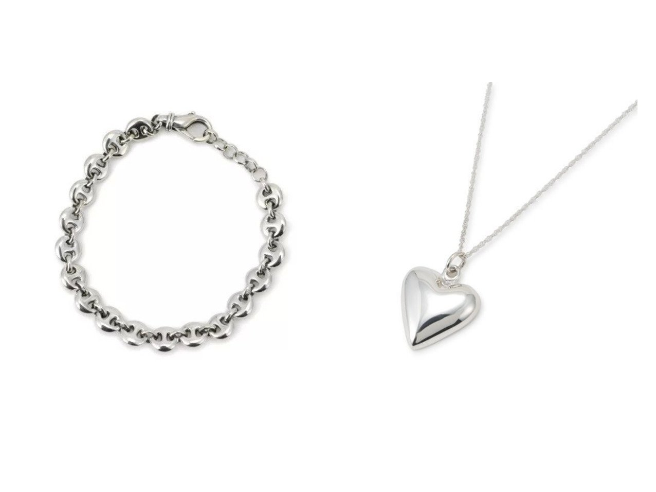 【SOPHIE BUHAI/ソフィー ブハイ】のSmall Circle Link Bracelet&Petite Heart Pendant おすすめ!人気、トレンド・レディースファッションの通販 おすすめで人気の流行・トレンド、ファッションの通販商品 インテリア・家具・メンズファッション・キッズファッション・レディースファッション・服の通販 founy(ファニー) https://founy.com/ ファッション Fashion レディースファッション WOMEN ジュエリー Jewelry ブレスレット Bracelets バングル Bangles ネックレス Necklaces アクセサリー エレガント サークル シルバー ブレスレット ガーリー スウィート チェーン ネックレス フォルム モダン |ID:crp329100000074588