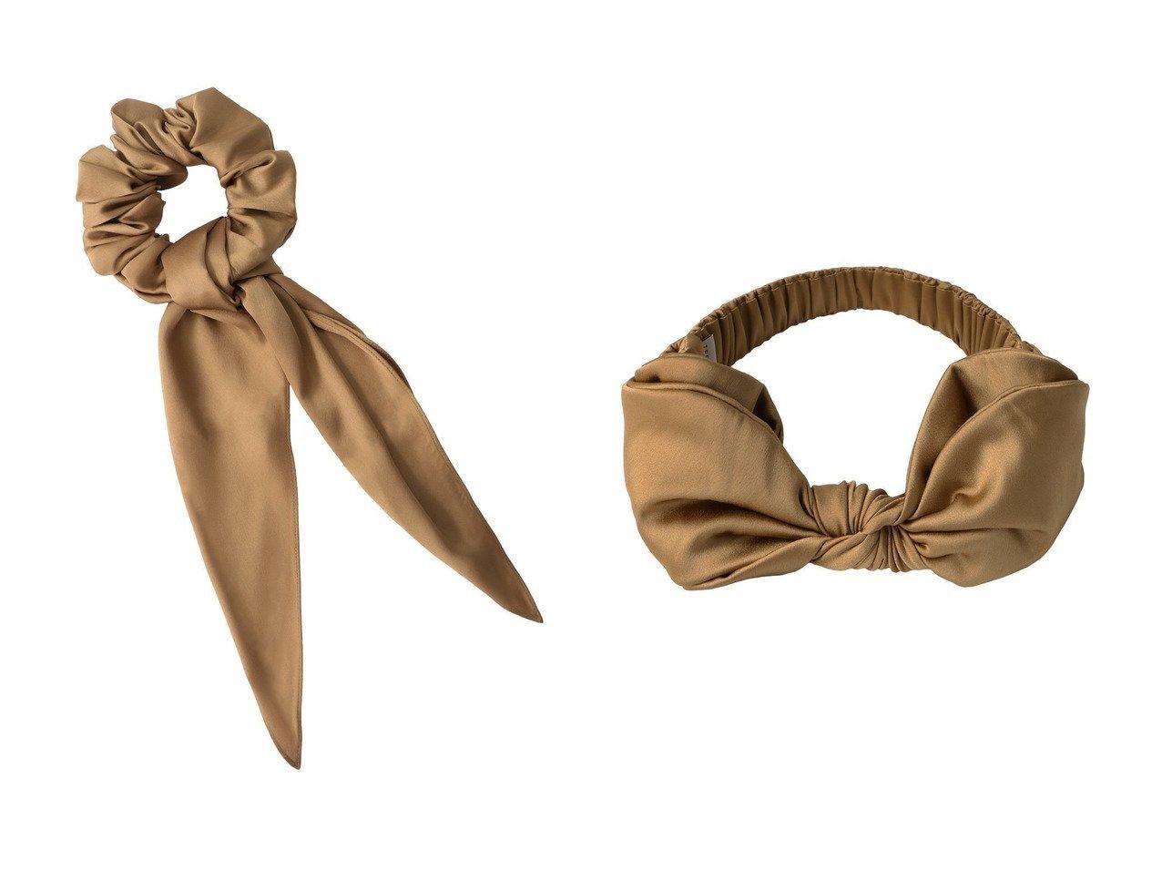 【TRESSE/トレス】のPetite Sophie スカーフ付きシュシュ&Petite Sophie ヘアバンド おすすめ!人気、トレンド・レディースファッションの通販 おすすめで人気の流行・トレンド、ファッションの通販商品 インテリア・家具・メンズファッション・キッズファッション・レディースファッション・服の通販 founy(ファニー) https://founy.com/ ファッション Fashion レディースファッション WOMEN シュシュ / ヘアアクセ Hair Accessories アクセサリー スカーフ |ID:crp329100000074702