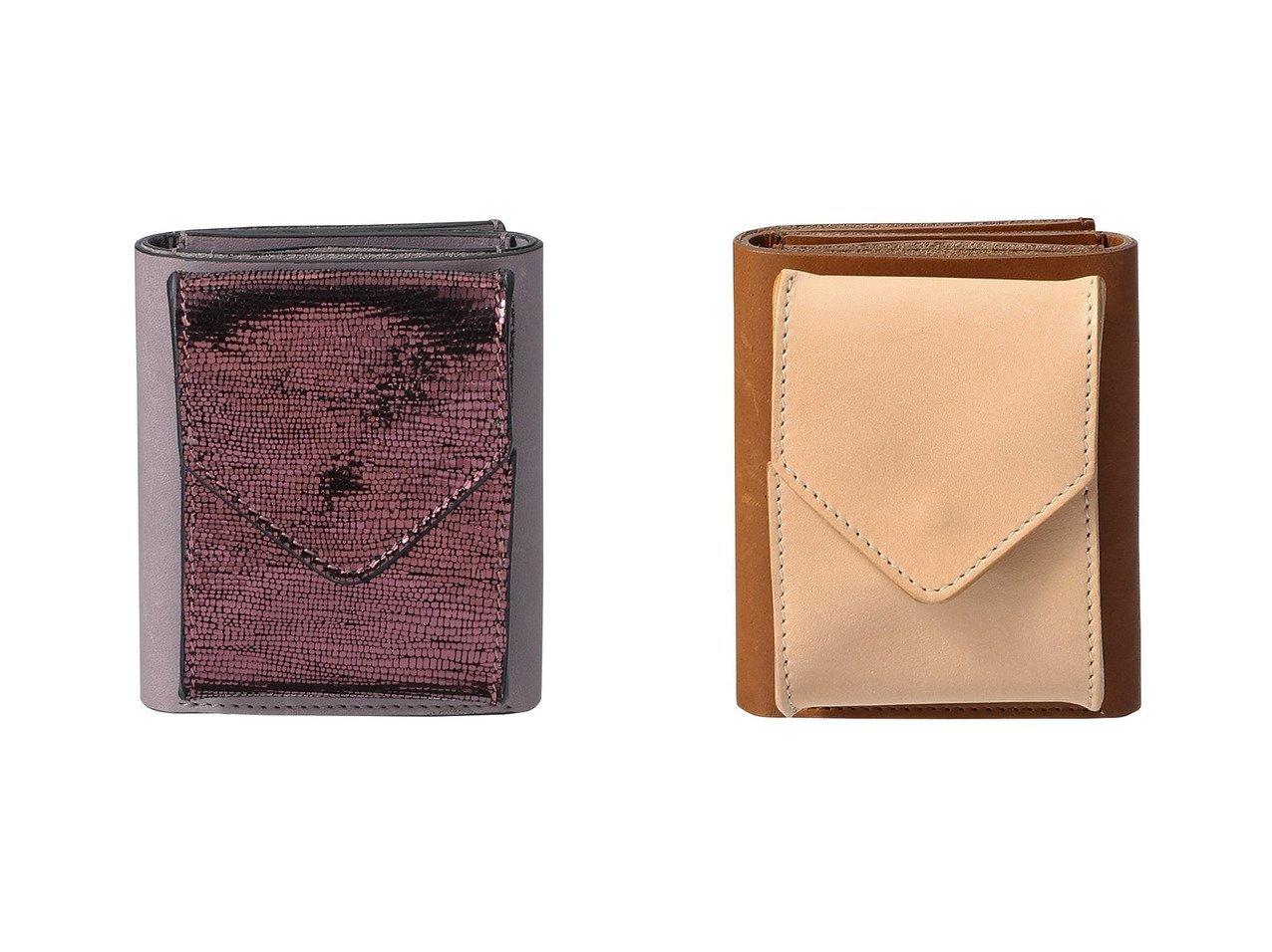 【TOD'S/トッズ】の【Hender Scheme×Tod s】トリフォールドウォレット(メタリック)&【Hender Scheme×Tod s】トリフォールドウォレット(カーフ) おすすめ!人気、トレンド・レディースファッションの通販 おすすめで人気の流行・トレンド、ファッションの通販商品 インテリア・家具・メンズファッション・キッズファッション・レディースファッション・服の通販 founy(ファニー) https://founy.com/ ファッション Fashion レディースファッション WOMEN 財布 Wallets ウォレット 財布 |ID:crp329100000074705