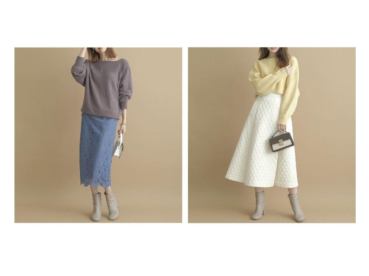 【Apuweiser-riche/アプワイザーリッシェ】のカラーコードレースタイトスカート&キルティングフレアスカート 【スカート】おすすめ!人気、トレンド・レディースファッションの通販 おすすめで人気の流行・トレンド、ファッションの通販商品 インテリア・家具・メンズファッション・キッズファッション・レディースファッション・服の通販 founy(ファニー) https://founy.com/ ファッション Fashion レディースファッション WOMEN スカート Skirt Aライン/フレアスカート Flared A-Line Skirts NEW・新作・新着・新入荷 New Arrivals キルティング ギャザー フレア モダン おすすめ Recommend スマート タイトスカート ダウン レース  ID:crp329100000074887