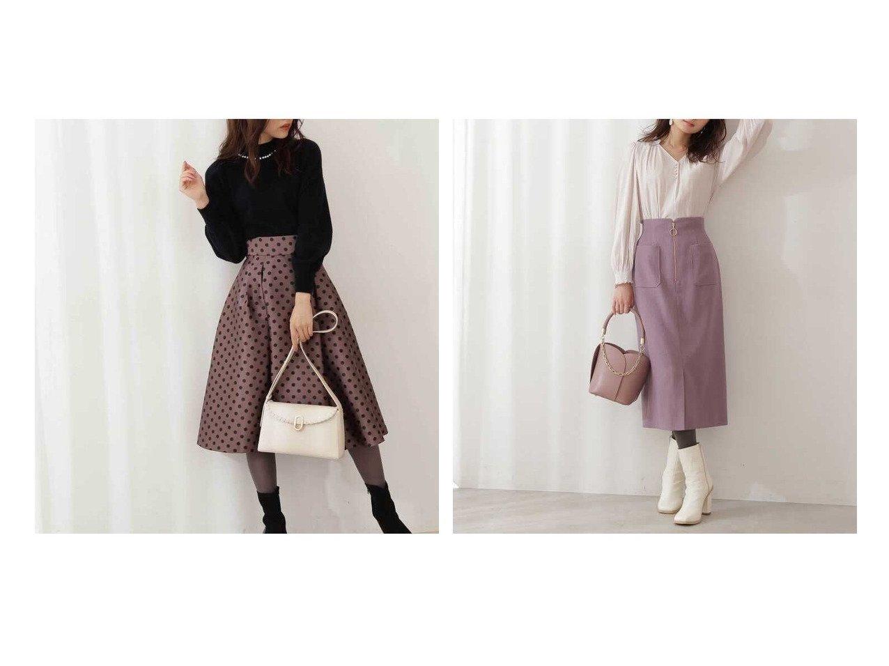 【PROPORTION BODY DRESSING/プロポーション ボディドレッシング】のフロントファスナーカルゼタイトスカート&ポルカドットタックフレアスカート 【スカート】おすすめ!人気、トレンド・レディースファッションの通販 おすすめで人気の流行・トレンド、ファッションの通販商品 インテリア・家具・メンズファッション・キッズファッション・レディースファッション・服の通販 founy(ファニー) https://founy.com/ ファッション Fashion レディースファッション WOMEN スカート Skirt Aライン/フレアスカート Flared A-Line Skirts おすすめ Recommend ウォーム ショート タイトスカート フロント ポケット  ID:crp329100000074890