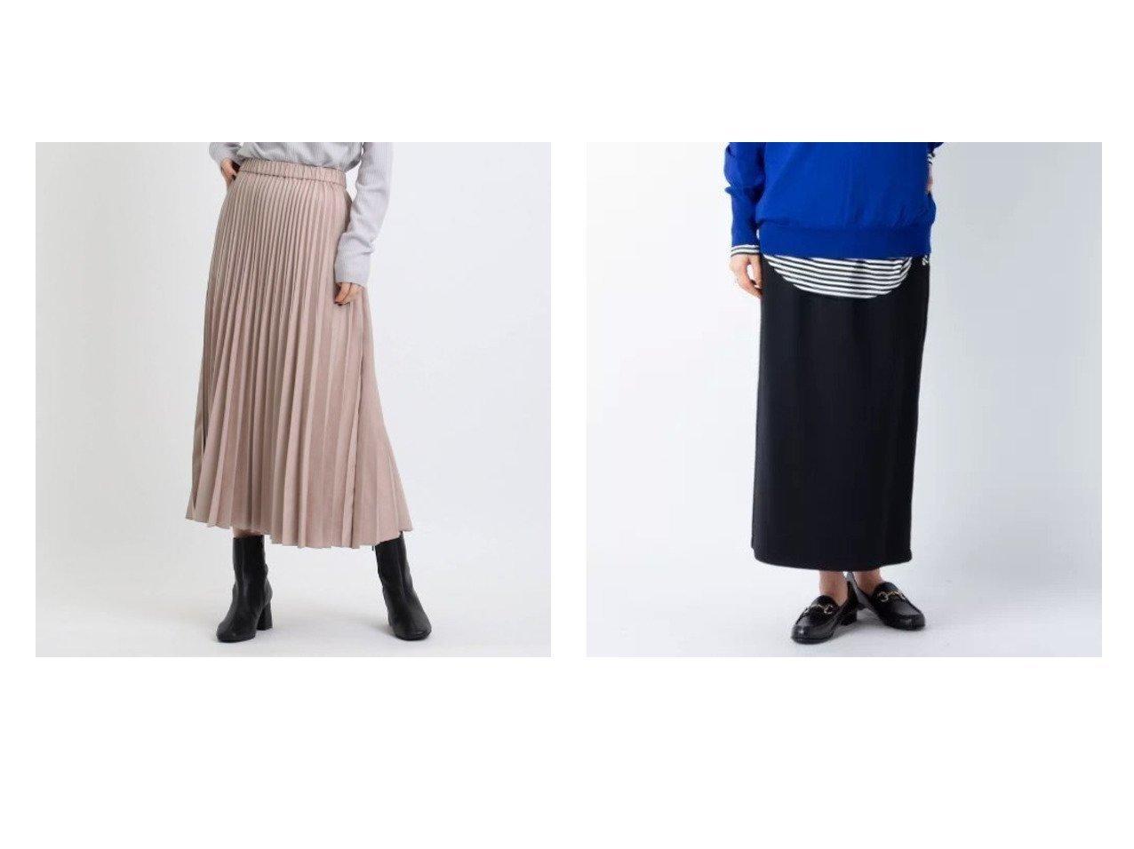 【NOLLEY'S/ノーリーズ】のメリル裏起毛イージースカート&【INDIVI/インディヴィ】のフェイクスエードプリーツスカート 【スカート】おすすめ!人気、トレンド・レディースファッションの通販 おすすめで人気の流行・トレンド、ファッションの通販商品 インテリア・家具・メンズファッション・キッズファッション・レディースファッション・服の通販 founy(ファニー) https://founy.com/ ファッション Fashion レディースファッション WOMEN スカート Skirt プリーツスカート Pleated Skirts 2021年 2021 2021-2022秋冬・A/W AW・Autumn/Winter・FW・Fall-Winter・2021-2022 A/W・秋冬 AW・Autumn/Winter・FW・Fall-Winter マキシ ロング 軽量 ギャザー フェイクスエード プリーツ ポケット レギュラー  ID:crp329100000074892