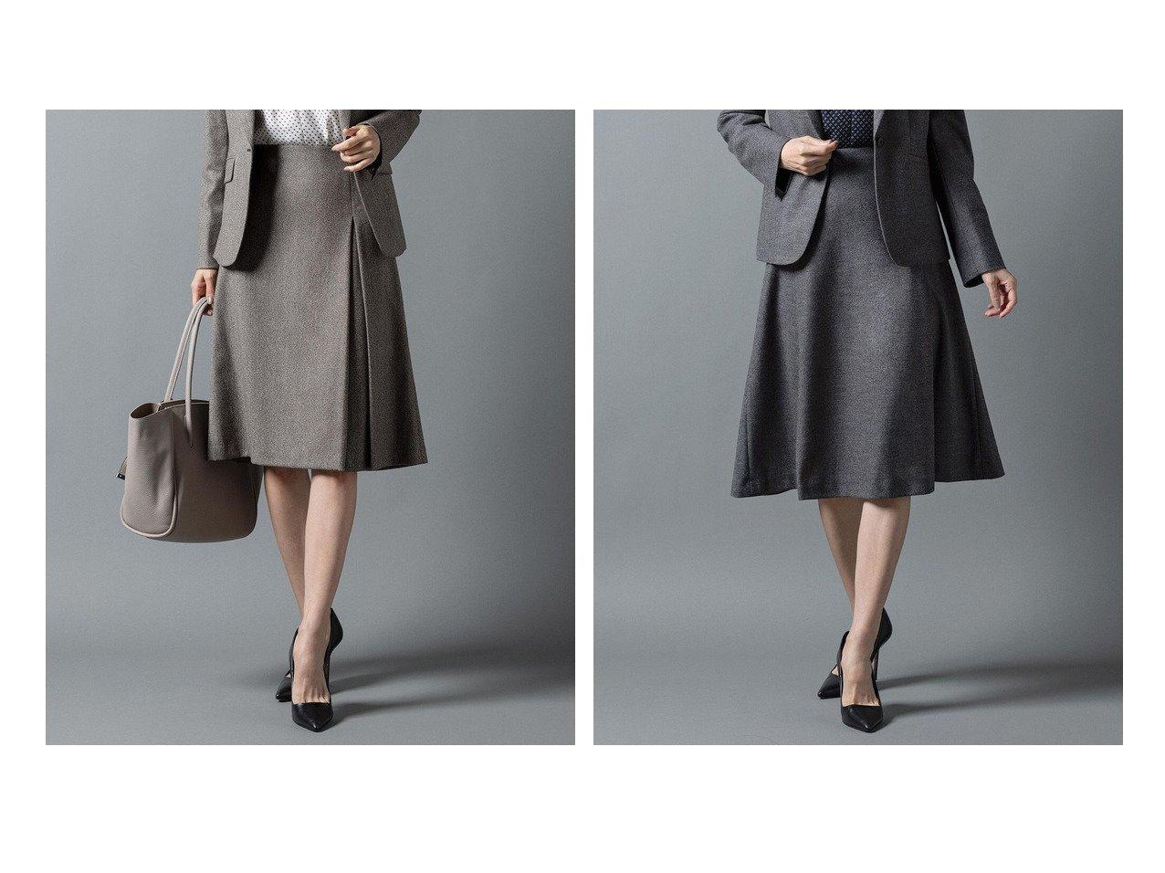 【J.PRESS/ジェイ プレス】の【セットアップ対応】アクアレジェンドウールジャージー スカート&【セットアップ対応】ウールストレッチツイード スカート 【スカート】おすすめ!人気、トレンド・レディースファッションの通販 おすすめで人気の流行・トレンド、ファッションの通販商品 インテリア・家具・メンズファッション・キッズファッション・レディースファッション・服の通販 founy(ファニー) https://founy.com/ ファッション Fashion レディースファッション WOMEN セットアップ Setup スカート Skirt 送料無料 Free Shipping シンプル ジャケット セットアップ フレア 切替 ストレッチ トレンド プリーツ ベーシック  ID:crp329100000074902