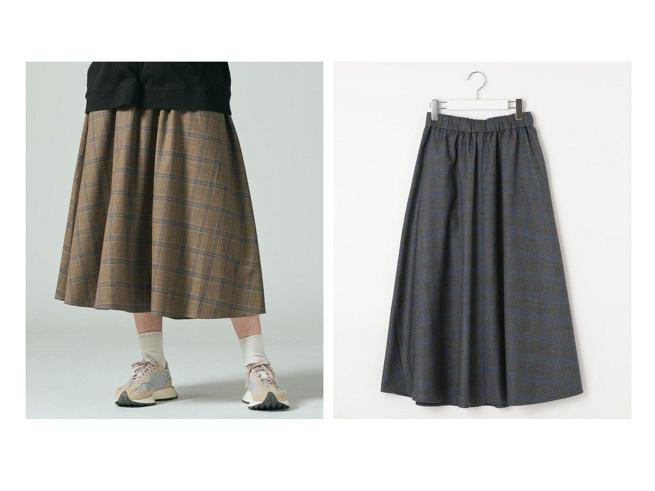 【J.PRESS YORK STREET/ジェイプレスヨークストリート】の【WOMEN】チェックギャザースカート 【スカート】おすすめ!人気、トレンド・レディースファッションの通販 おすすめで人気の流行・トレンド、ファッションの通販商品 インテリア・家具・メンズファッション・キッズファッション・レディースファッション・服の通販 founy(ファニー) https://founy.com/ ファッション Fashion レディースファッション WOMEN スカート Skirt 送料無料 Free Shipping おすすめ Recommend チェック フレア ポケット 定番 Standard  ID:crp329100000074903