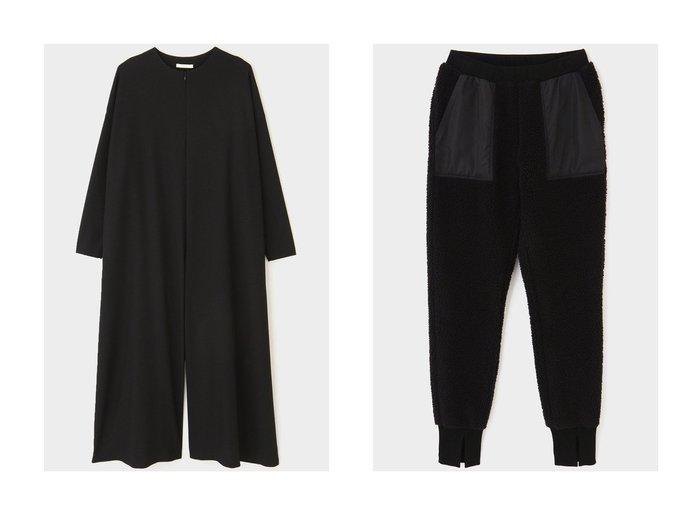 【LE PHIL/ル フィル】のボアジョガーパンツ&2WAYツイルコンビネゾン 【パンツ】おすすめ!人気、トレンド・レディースファッションの通販 おすすめ人気トレンドファッション通販アイテム 人気、トレンドファッション・服の通販 founy(ファニー) ファッション Fashion レディースファッション WOMEN パンツ Pants スリット ポケット リラックス |ID:crp329100000075150