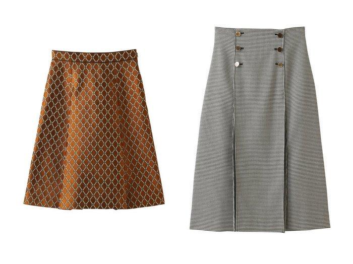 【ANAYI/アナイ】のチェックタックスカート&チェーンジャガードタックスカート 【スカート】おすすめ!人気、トレンド・レディースファッションの通販 おすすめ人気トレンドファッション通販アイテム 人気、トレンドファッション・服の通販 founy(ファニー) ファッション Fashion レディースファッション WOMEN スカート Skirt ロングスカート Long Skirt A/W・秋冬 AW・Autumn/Winter・FW・Fall-Winter なめらか クラシカル ダブル チェック ツイル フロント ロング  ID:crp329100000075162