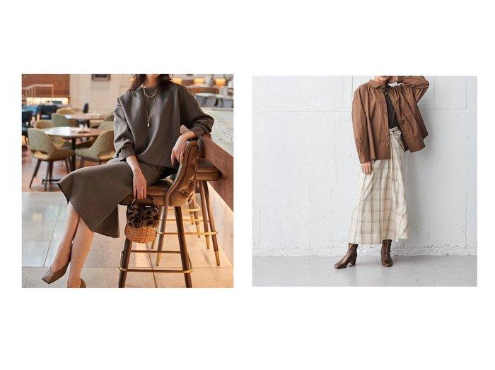 【ONWARD Design Diversity/オンワード デザイン ダイバーシティ】の【IIQUAL】ロングフレアスカート&【NIJYUSANKU/23区】のWフェイスジャージー スカート 【スカート】おすすめ!人気、トレンド・レディースファッションの通販 おすすめ人気トレンドファッション通販アイテム 人気、トレンドファッション・服の通販 founy(ファニー) ファッション Fashion レディースファッション WOMEN スカート Skirt Aライン/フレアスカート Flared A-Line Skirts 送料無料 Free Shipping スリット ランダム 2021年 2021 2021-2022秋冬・A/W AW・Autumn/Winter・FW・Fall-Winter・2021-2022 A/W・秋冬 AW・Autumn/Winter・FW・Fall-Winter 冬 Winter ジャージー セットアップ フェイス フレア ラグジュアリー |ID:crp329100000075173