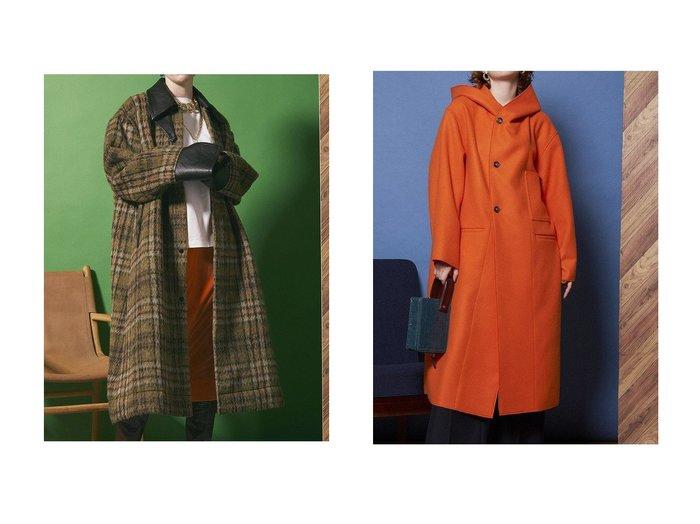 【MAISON SPECIAL/メゾンスペシャル】の2WAYビックカラーコート&リバーメルトンフードコート 【アウター】おすすめ!人気、トレンド・レディースファッションの通販 おすすめ人気トレンドファッション通販アイテム 人気、トレンドファッション・服の通販 founy(ファニー) ファッション Fashion レディースファッション WOMEN アウター Coat Outerwear コート Coats インナー ボトム メルトン ロング |ID:crp329100000075210