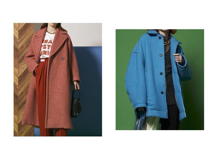 【MAISON SPECIAL/メゾンスペシャル】のシェットランドウール中綿コート&クレーターメルトンコート 【アウター】おすすめ!人気、トレンド・レディースファッションの通販 おすすめ人気トレンドファッション通販アイテム 人気、トレンドファッション・服の通販 founy(ファニー) ファッション Fashion レディースファッション WOMEN アウター Coat Outerwear コート Coats ハイネック フェルト フラップ ミドル メルトン メンズ ロング  ID:crp329100000075212