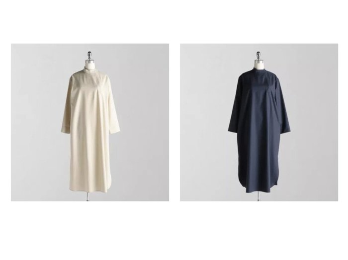 【LOEFF/ロエフ】のW サキソニー ルバシカ ワンピース 【ワンピース・ドレス】おすすめ!人気、トレンド・レディースファッションの通販 おすすめ人気トレンドファッション通販アイテム 人気、トレンドファッション・服の通販 founy(ファニー) ファッション Fashion レディースファッション WOMEN ワンピース Dress シャツワンピース Shirt Dresses ショート ストレート スリット チュニック ドレス 長袖 おすすめ Recommend |ID:crp329100000075256