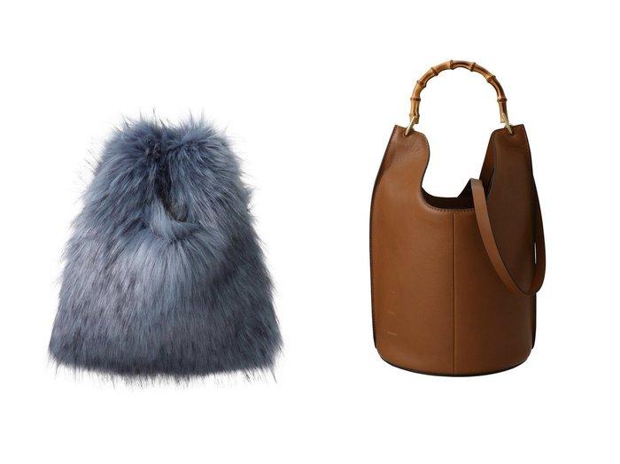 【allureville/アルアバイル】のフェイクファーショッピングバッグ&【Whim Gazette/ウィムガゼット】の【ORSETTO】バンブーワンショルバッグ 【バッグ・鞄】おすすめ!人気、トレンド・レディースファッションの通販 おすすめ人気トレンドファッション通販アイテム 人気、トレンドファッション・服の通販 founy(ファニー) ファッション Fashion レディースファッション WOMEN トップス・カットソー Tops/Tshirt キャミソール / ノースリーブ No Sleeves シャツ/ブラウス Shirts/Blouses ロング / Tシャツ T-Shirts カットソー Cut and Sewn バッグ Bag キャミソール タンク バケツ A/W・秋冬 AW・Autumn/Winter・FW・Fall-Winter フェイクファー |ID:crp329100000075484