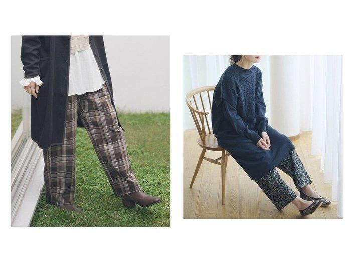 【studio CLIP/スタディオ クリップ】のアソートマルシェパンツ 【パンツ】おすすめ!人気、トレンド・レディースファッションの通販 おすすめ人気トレンドファッション通販アイテム インテリア・キッズ・メンズ・レディースファッション・服の通販 founy(ファニー) https://founy.com/ ファッション Fashion レディースファッション WOMEN パンツ Pants NEW・新作・新着・新入荷 New Arrivals ジーンズ プリント ベーシック 人気 楽ちん |ID:crp329100000075681