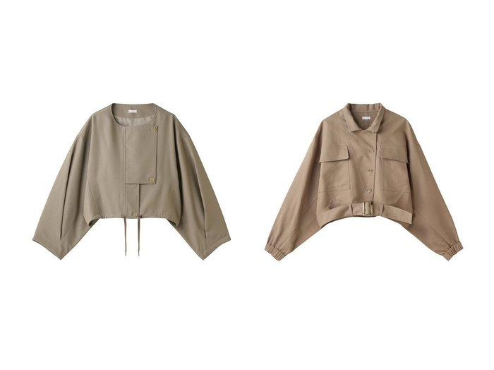 【Chaos/カオス】のSEEALL ミリタリーブルゾン&SEEALL SHORT ブルゾン 【アウター】おすすめ!人気、トレンド・レディースファッションの通販 おすすめ人気トレンドファッション通販アイテム 人気、トレンドファッション・服の通販 founy(ファニー) ファッション Fashion レディースファッション WOMEN アウター Coat Outerwear ジャケット Jackets ブルゾン Blouson/Jackets ショート ジャケット フラップ ブルゾン ポケット おすすめ Recommend セットアップ ミリタリー |ID:crp329100000075900